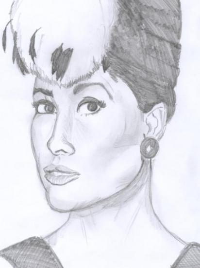 Audrey Hepburn par Junkova14